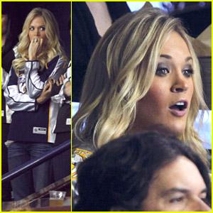 Carrie Underwood: Go Nashville Predators!