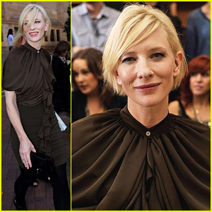 Cate Blanchett: Romance Was Born