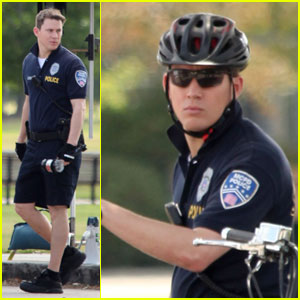 Channing Tatum: '21 Jump Street' Set with Jonah Hill!