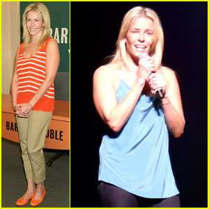 Chelsea Handler Tells Lies in New York City
