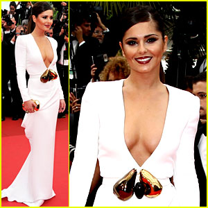 Cheryl Cole: 'Habemus Papam' Premiere at Cannes!
