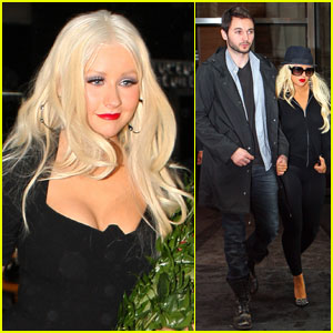 Christina Aguilera: Top Ten on 'Letterman'!