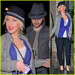 Christina Aguilera & Matthew Rutler: Spice Market Mates