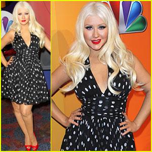 Christina Aguilera: NBC Upfronts!