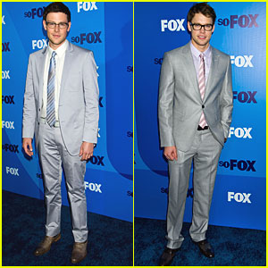 Cory Monteith & Chord Overstreet: Glee Guys in Glasses!