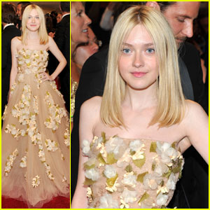 Dakota Fanning - MET Ball 2011