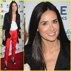 Demi Moore: A&#038;E Upfront Presentation