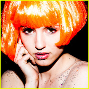 Dianna Agron: Glitter Shoot with Tyler Shields!