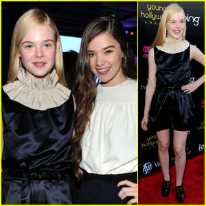 Elle Fanning & Hailee Steinfeld - Young Hollywood Awards 2011