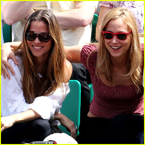 Elsa Pataky: French Open with Nora Arnezederr!