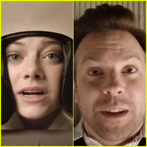 Emma Stone Drools in Jason Sudeikis' Mouth