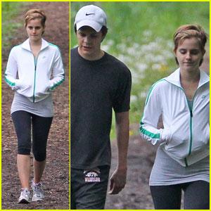 Emma Watson Enjoys 'The Perks of Being a Wallflower'