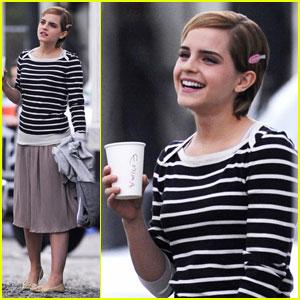 Emma Watson: Less Makeup, Less Accessories
