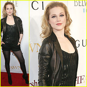 Evan Rachel Wood: Mary J. Blige Honors Concert!