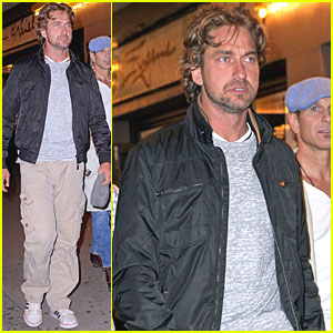 Gerard Butler Catches 'Book of Mormon' on Broadway