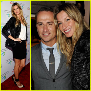 Gisele Bundchen: Beauty Culture Gallery Opening!