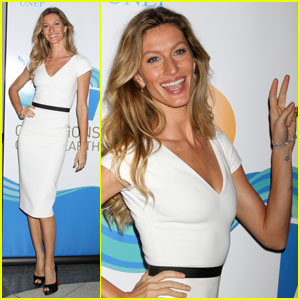 Gisele Bundchen: UN Premier Global Environmental Awards!
