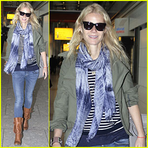 Gwyneth Paltrow: Heathrow Airport Arrival