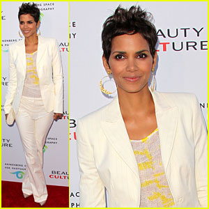 Halle Berry: Beauty Culture Exhibit Opening!