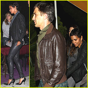 Halle Berry: Prince Concert with Olivier Martinez!