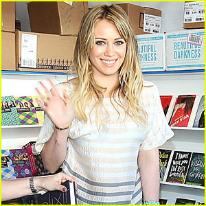 Hilary Duff: LA Times Festival of Books!