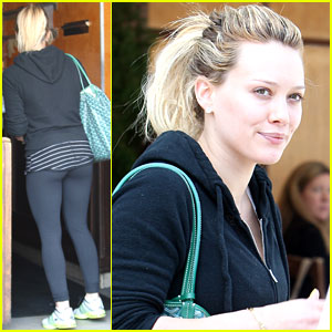 Hilary Duff: Mike Makes Me Dinner!