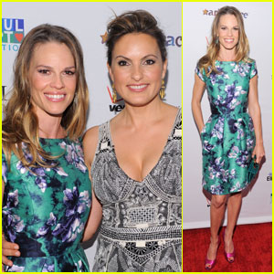 Mariska Hargitay: Joyful Heart Gala with Hilary Swank!
