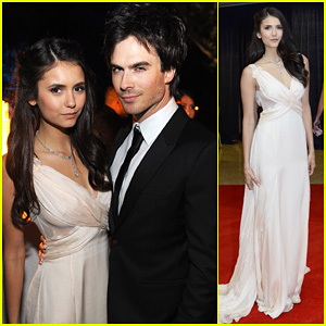 Ian Somerhalder & Nina Dobrev - White House Correspondents' Dinner