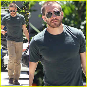 Jake Gyllenhaal: Boxing Training Day!