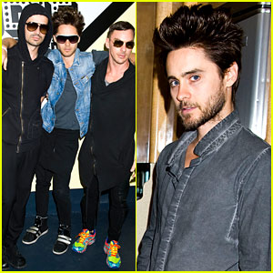 Jared Leto: Museum of Sex Visit with Thirty Seconds to Mars!
