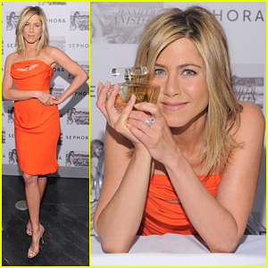 Jennifer Aniston: Sephora Fragrance Launch!