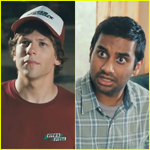 Jesse Eisenberg & Aziz Ansari: '30 Minutes or Less' Trailer!