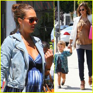 Jessica Alba: Baby Bump in Beverly Hills