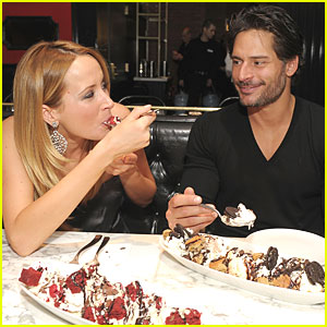 Joe Manganiello: Sugar Factory with Audra Marie!