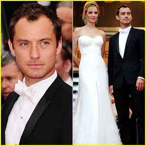 Jude Law: Cannes Opening Ceremony with Uma Thurman!
