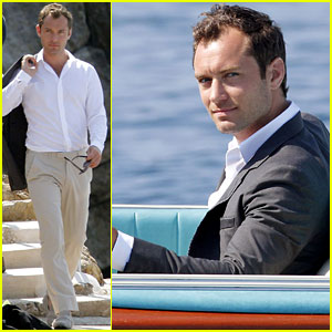 Jude Law: Dior Commercial Shoot