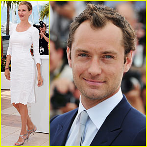 Jude Law & Uma Thurman: Cannes Jury Members!