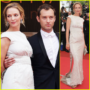 Jude Law & Uma Thurman: 'Pirates' Premiere Pair