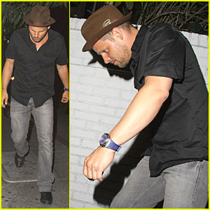 Justin Chambers: Chateau Marmont Man