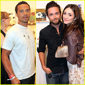 Justin Chawin & Emmy Rossum: Incognito Art Exhibition!