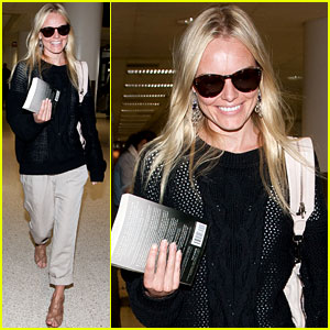 Kate Bosworth: Airport Arrival!
