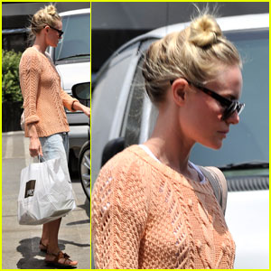 Kate Bosworth: Joan's on Third To Go!