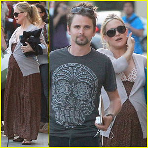 Kate Hudson & Matt Bellamy: Kimmel Visit!