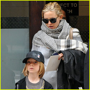 Kate Hudson: Busy Weekend in NYC