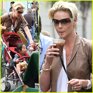 Katherine Heigl: Farmer's Market With Naleigh & Josh Kelley