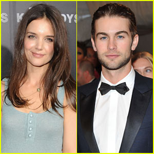 Katie Holmes: 'Responsible Adults' with Chace Crawford!