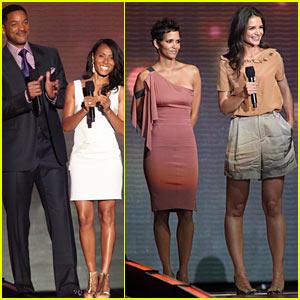 Halle Berry & Katie Holmes: Oprah Series Finale Guests!