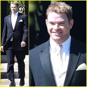 Kellan Lutz: Groomsman at Brother's Wedding!