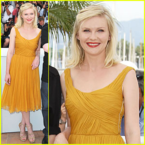 Kirsten Dunst: 'Melancholia' Photo Call in Cannes!