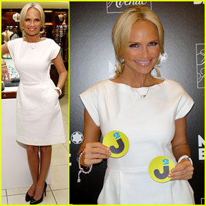 Kristin Chenoweth Interview - JustJared.com Exclusive!